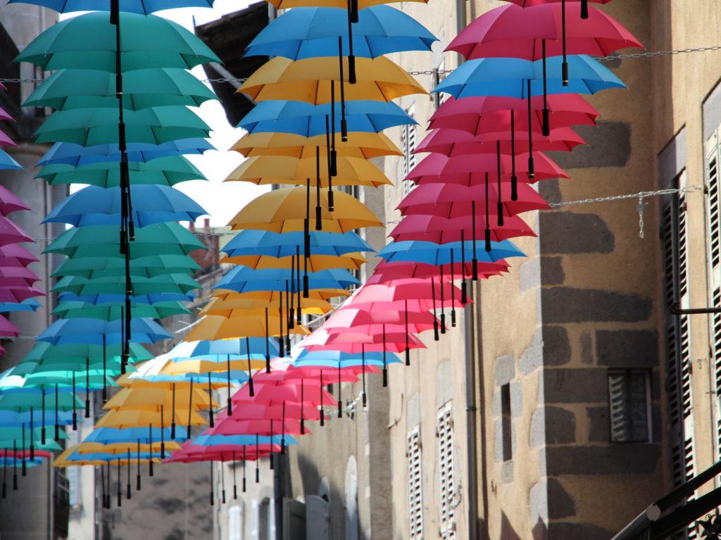 Parapluies d'Aurillac pour coupe-vents La Petite Boucle